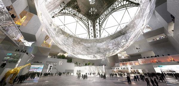 Agence search architecture la tour eiffel dans sa bulle - L architecture de demain ...