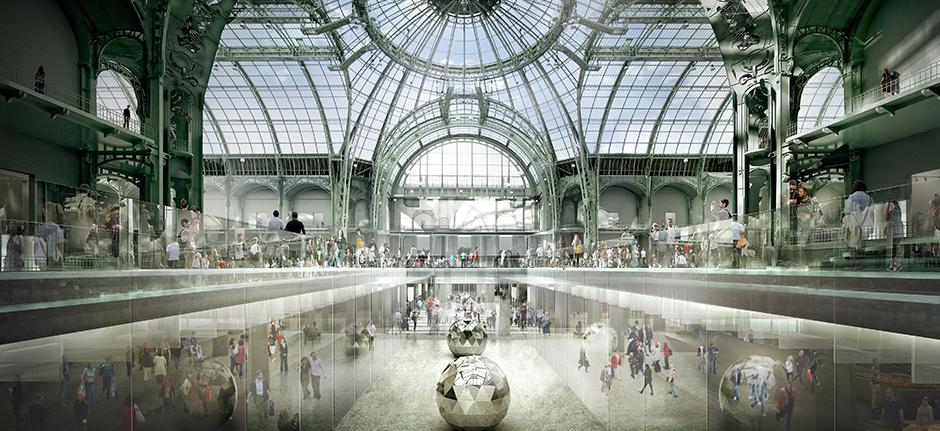 Agence search architecture restauration et amenagement for Architecte grand palais
